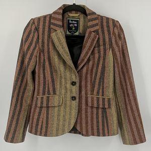 BODEN British Tweed by Moon Wool Blazer